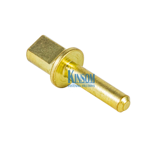 Square Head Solid Rivets Steel Copper Coating