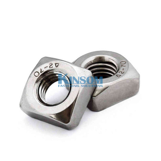 DIN 934 stainless steel hex nut with fine thread