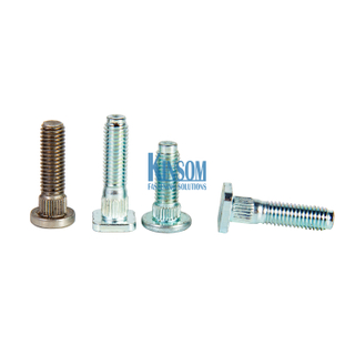 Square Knurled neck Machine Screws weld bolt Automotive Fasteners