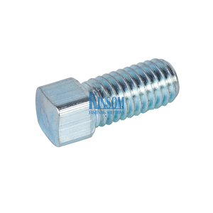 Square Head Machine Screws Steel with Zinc Coating